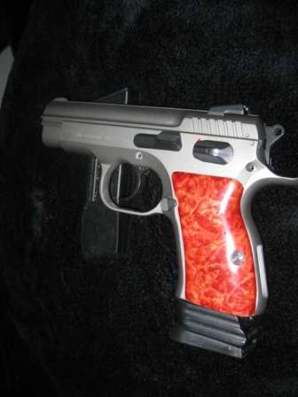 Hand Carved, Pistol Grips,pistol,grips,carving,metal,inlay